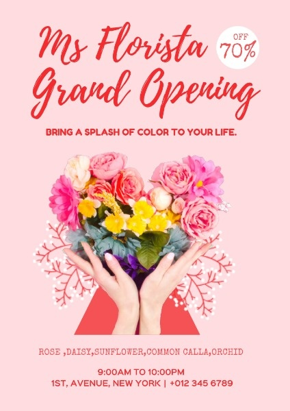 Flower Store Opening