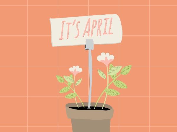 April Greeting