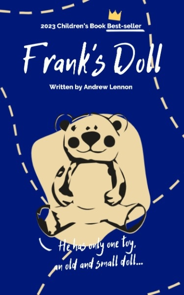 Blue Bear Doll Book Cover