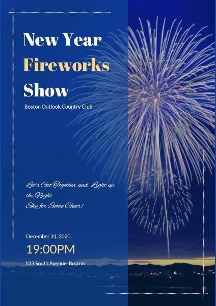 fireworks_lsj_20181217 new year fireworks show