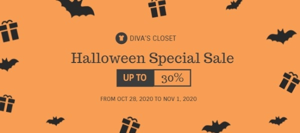 Halloween Clothes Store Special Sale