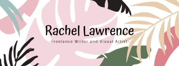 Freelance Writer And Visual Artist Banner