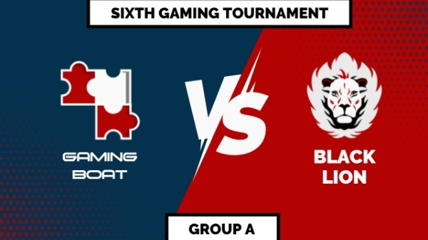Blue And Red Gaming Tournament