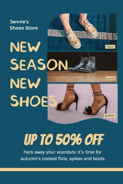Fall Season Shoe Sales