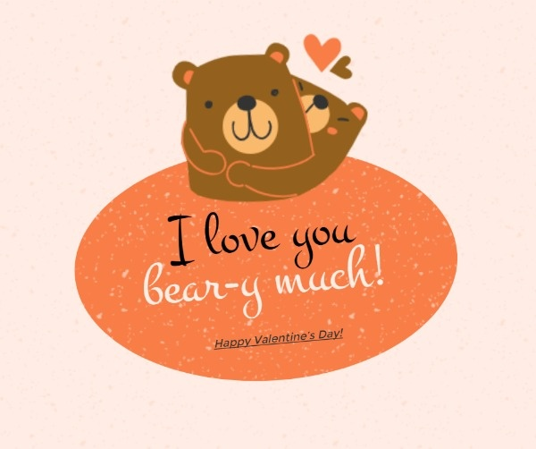 Valentine's Day Cute Bear
