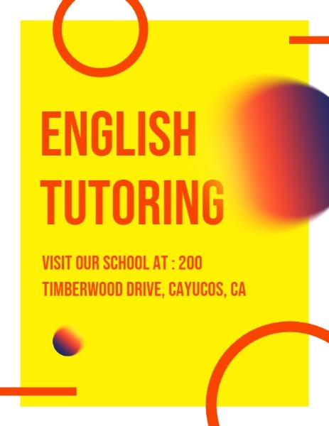 English Training School Program