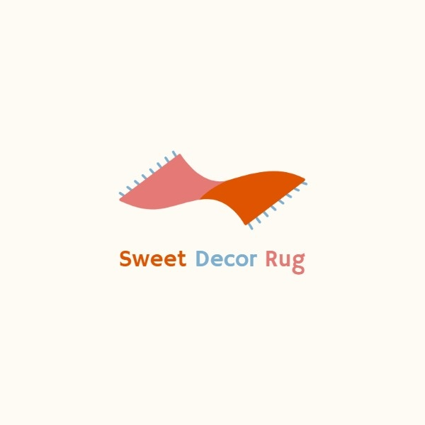 Red Decoration Rug Icon