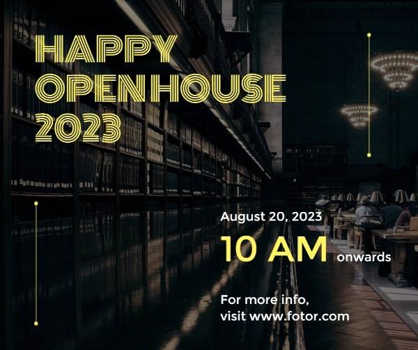Happy Openhouse Celebration Facebook Post
