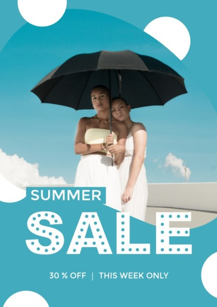 Blue Summer Promotion