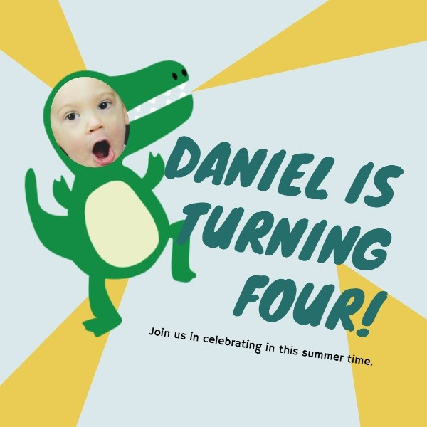 Daniel's First Birthday Party