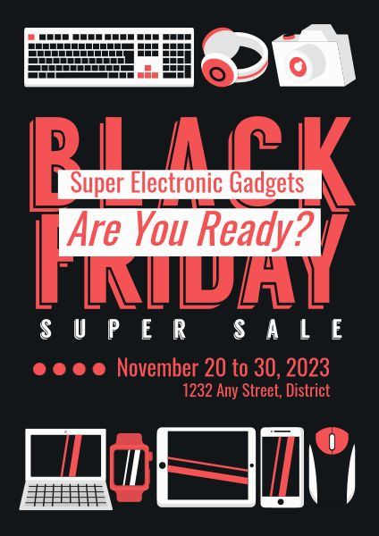 Black Friday Gadget Super Sale