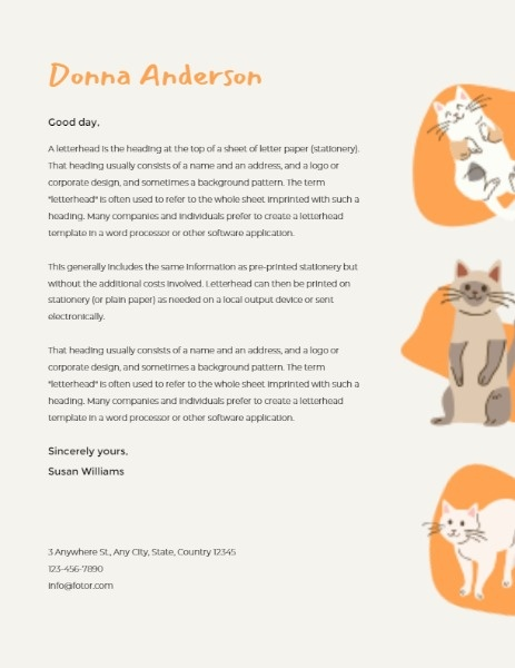 Cute Animal Sticker Letter