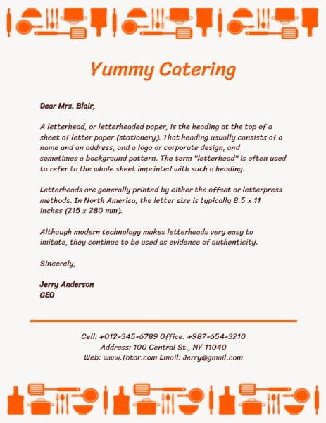 Yummy Catering