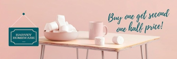 Pink Homeware Sale Banner