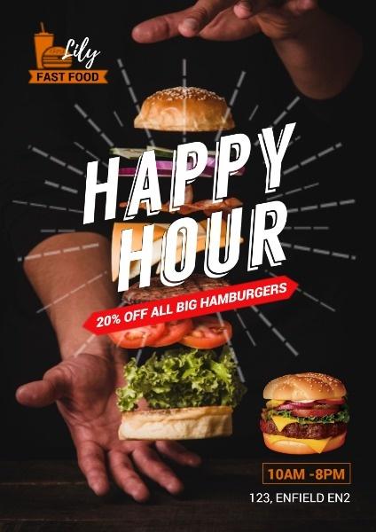 Fast Food Hamburger Discount