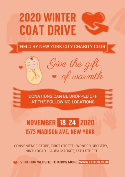Winter Coat Donation