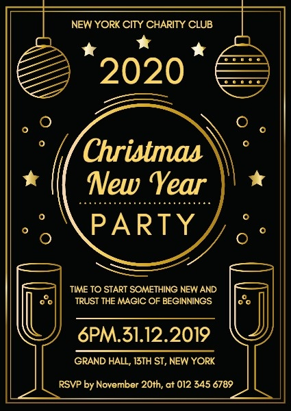 Christmas New Year Party