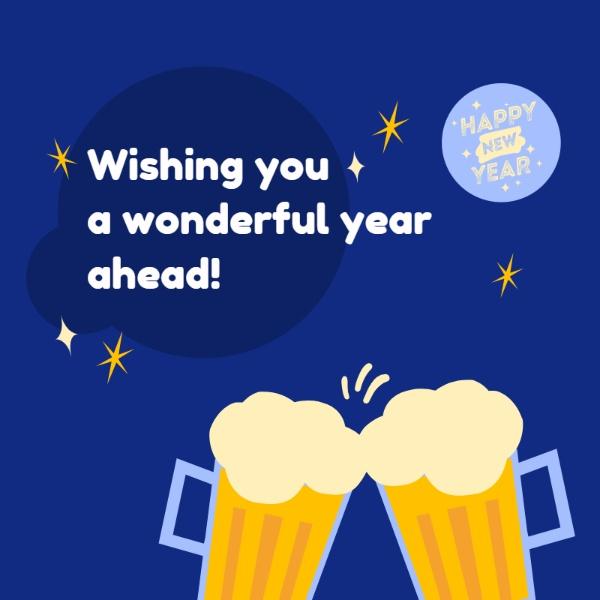 New year wishing