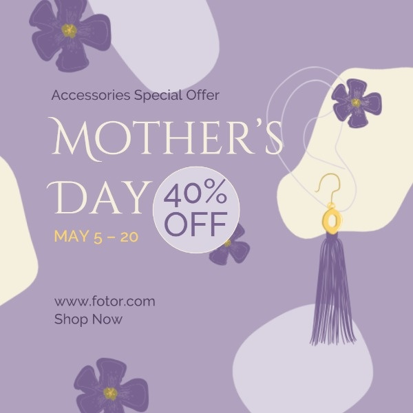 Mother's Day Accessories Sale