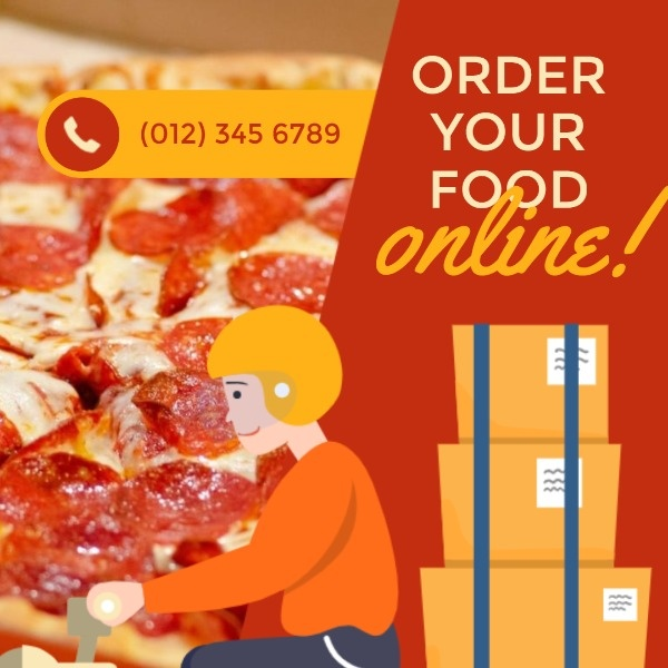 Pizza Online Ordering Ads