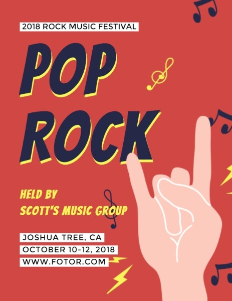 Pop Rock Music Festival