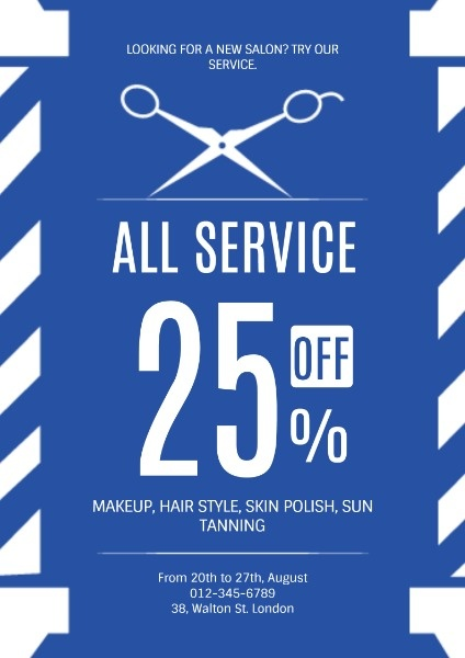 Hair Salon Special Offer