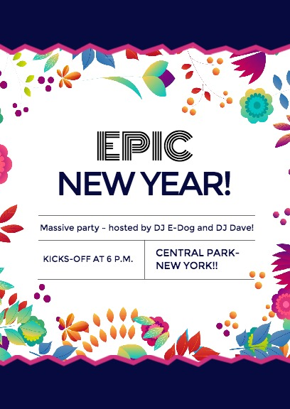 top reasons to use fotors epic new year party invitation maker