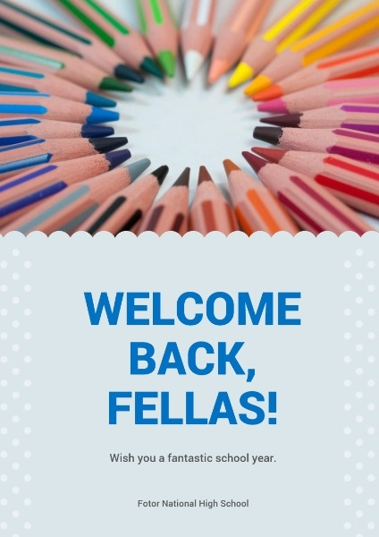Welcome Back Poster