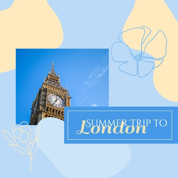 Summer Trip To London Inspiration