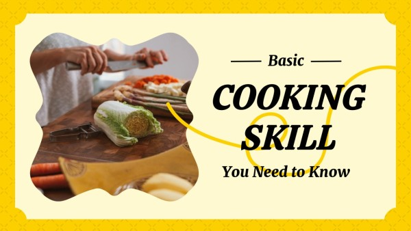 Yellow Cooking Skill And Baking Tips