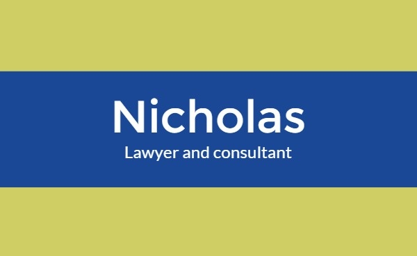 Lawyer And Consultant