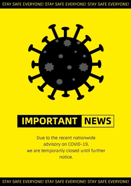 Yellow News Announcement