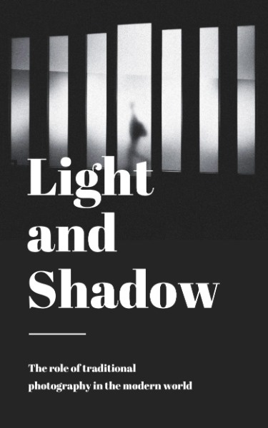 Light And Shadow Photography Book