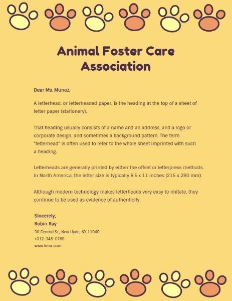Animal Foster Care Association