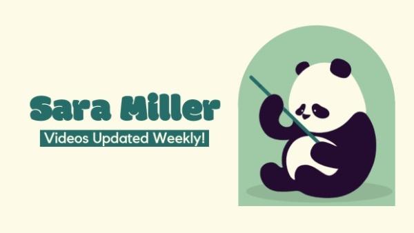 Cute Panda Cover