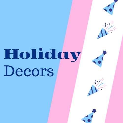 holiday decors
