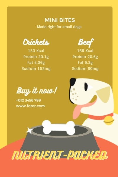 Yellow Dog Food Sale