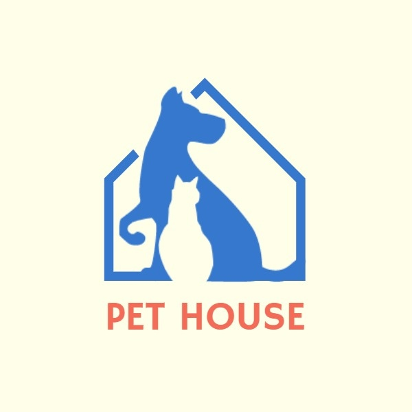 Blue Pet House