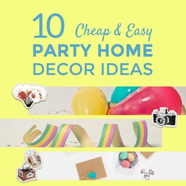 DIY Party Decoration