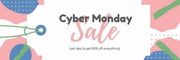 Cyber Monday Sale Email Header