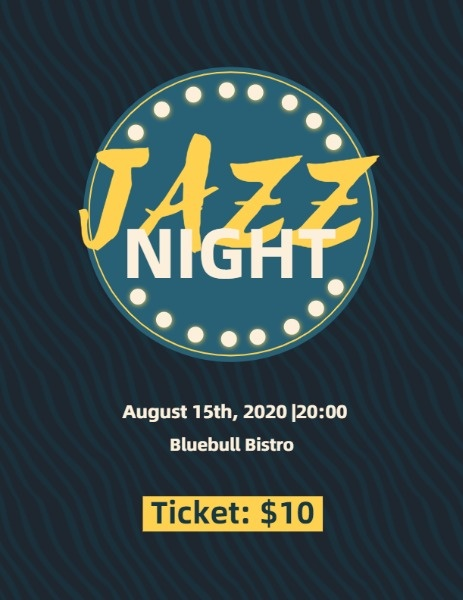 Jazz Night Program