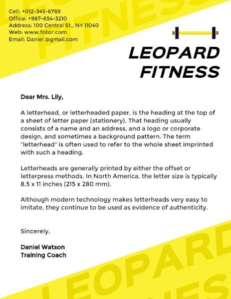 Leopard Fitness