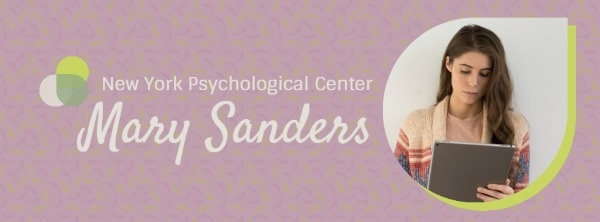 Psychological Doctor Profile Banner