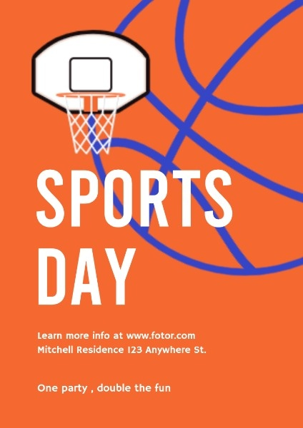 Basketball Sports Day