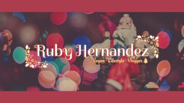 Red Christmas Youtube Channel Banner
