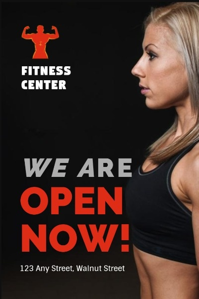 Black Fitness Center Grand Opening