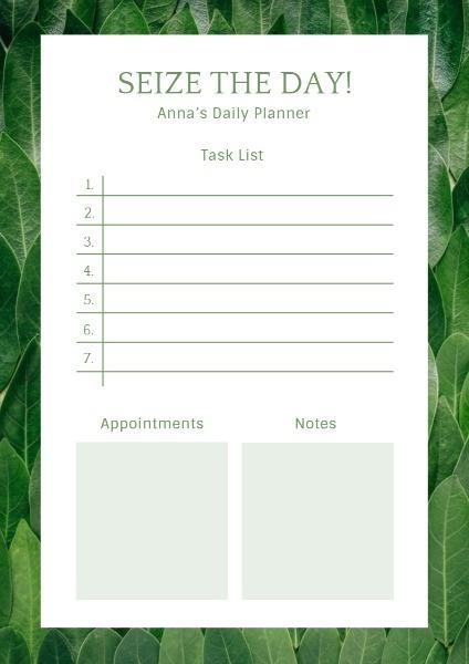 Green Plant Plan