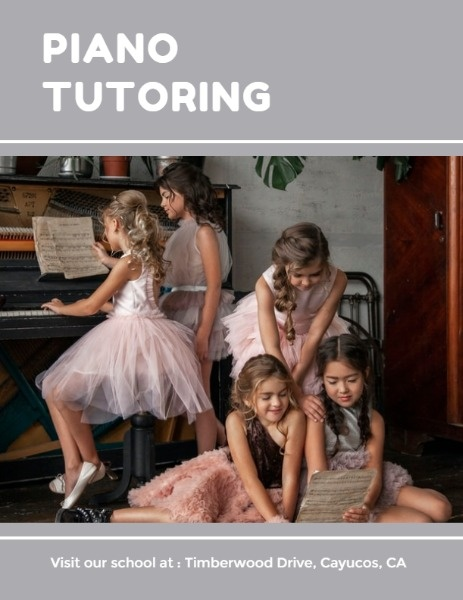 Piano Tutoring Program Flow
