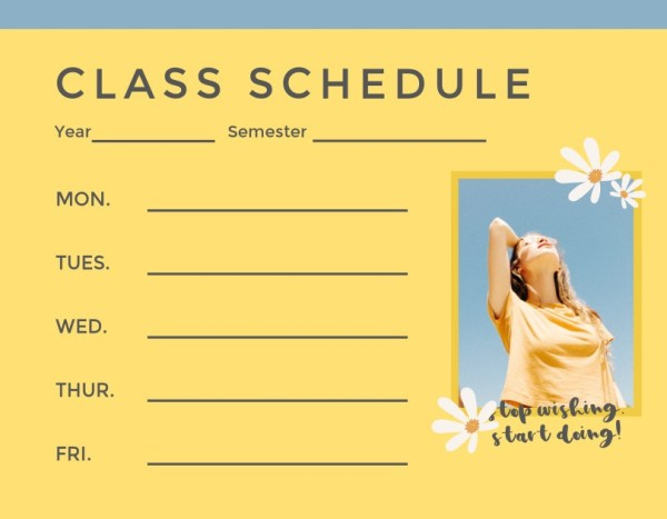 22class schedule_lsj