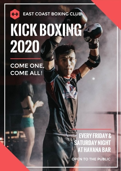 University Kick Boxing Game